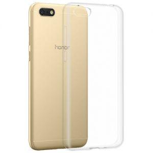 Чехол-накладка силиконовый для Huawei Honor 7A (прозрачный 1.0мм)