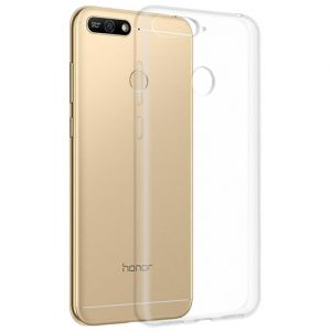 Чехол-накладка силиконовый для Huawei Honor 7A Pro (прозрачный 1.0мм)