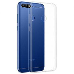 Чехол-накладка силиконовый для Huawei Honor 7A Pro (прозрачный) iBox Crystal