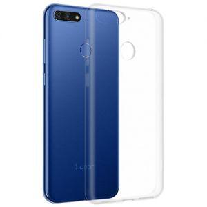 Чехол-накладка силиконовый для Huawei Honor 7C (прозрачный 1.0мм)