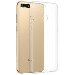 Чехол-накладка силиконовый для Huawei Honor 7C (прозрачный) iBox Crystal