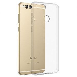 Чехол-накладка силиконовый для Huawei Honor 7X (прозрачный 1.0мм)