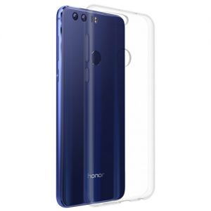 Чехол-накладка силиконовый для Huawei Honor 8 (прозрачный 1.0мм)