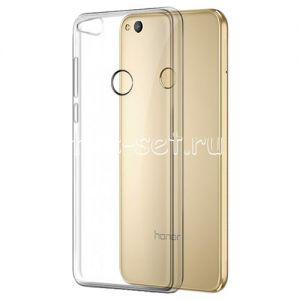 Чехол-накладка силиконовый для Huawei Honor 8 Lite (прозрачный 0.5мм)