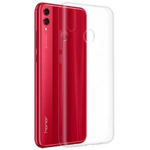 Чехол-накладка силиконовый для Huawei Honor 8X (прозрачный 1.0мм)