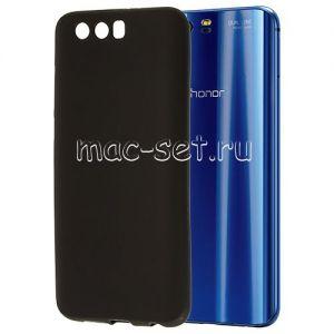 Чехол-накладка силиконовый для Huawei Honor 9 (черный 0.8мм)