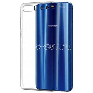 Чехол-накладка силиконовый для Huawei Honor 9 [толщина 0.5 мм] (прозрачный)