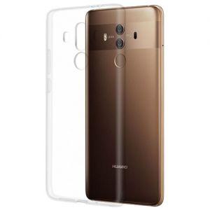 Чехол-накладка силиконовый для Huawei Mate 10 Pro (прозрачный 1.0мм)