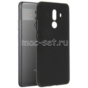 Чехол-накладка силиконовый для Huawei Mate 10 Pro (черный 0.8мм)