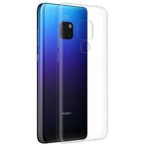 Чехол-накладка силиконовый для Huawei Mate 20 (прозрачный 1.0мм)