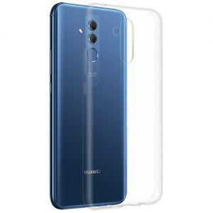 Чехол-накладка силиконовый для Huawei Mate 20 Lite (прозрачный 1.0мм)