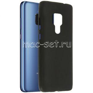 Чехол-накладка силиконовый для Huawei Mate 20 (черный 0.8мм)