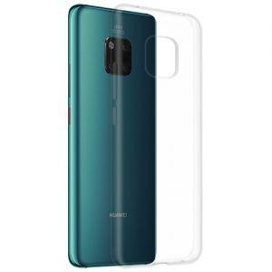 Чехол-накладка силиконовый для Huawei Mate 20 Pro (прозрачный 1.0мм)
