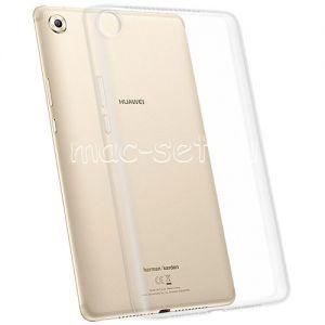 Чехол-накладка силиконовый для Huawei MediaPad M5 8 (прозрачный 1.8мм)