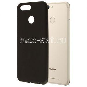 Чехол-накладка силиконовый для Huawei Nova 2 (черный 0.8мм)