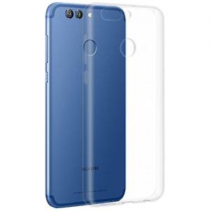 Чехол-накладка силиконовый для Huawei Nova 2 Plus (прозрачный 1.0мм)