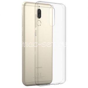 Чехол-накладка силиконовый для Huawei Nova 2i / Mate 10 Lite (прозрачный 0.3мм)
