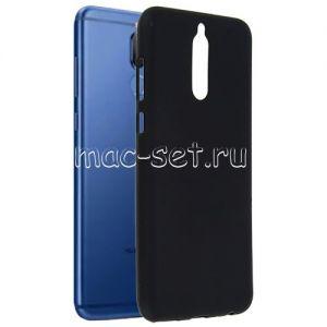 Чехол-накладка силиконовый для Huawei Nova 2i / Mate 10 Lite (черный 0.8мм)