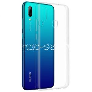 Чехол-накладка силиконовый для Huawei P Smart (2019) (прозрачный) iBox Crystal