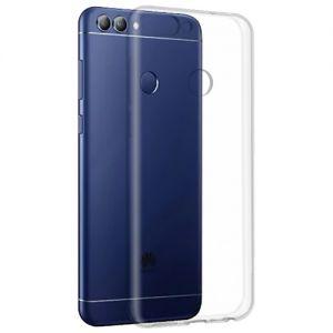 Чехол-накладка силиконовый для Huawei P Smart [толщина 1.0 мм] (прозрачный)