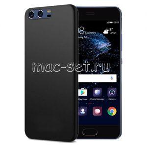 Чехол-накладка силиконовый для Huawei P10 (черный 0.8мм)
