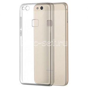 Чехол-накладка силиконовый для Huawei P10 Lite (прозрачный 0.5мм)