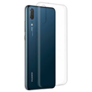 Чехол-накладка силиконовый для Huawei P20 (прозрачный 1.0мм)