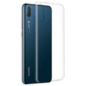 Чехол-накладка силиконовый для Huawei P20 (прозрачный) iBox Crystal