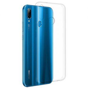 Чехол-накладка силиконовый для Huawei P20 Lite (прозрачный 1.0мм)