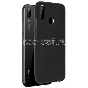 Чехол-накладка силиконовый для Huawei P20 Lite (черный 0.8мм)