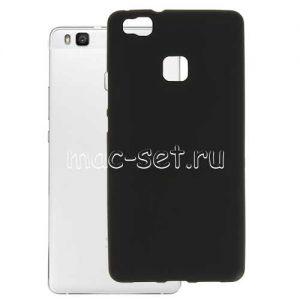 Чехол-накладка силиконовый для Huawei P9 Lite (черный 0.8мм)