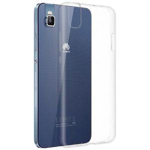 Чехол-накладка силиконовый для Huawei Shot X (прозрачный 1.0мм)