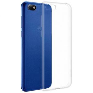 Чехол-накладка силиконовый для Huawei Y5 Prime (2018) (прозрачный 1.0мм)