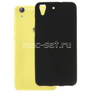 Чехол-накладка силиконовый для Huawei Y6 II / Honor 5A Plus (черный 0.8мм)