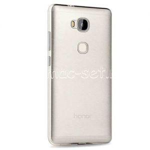 Чехол-накладка силиконовый для Huawei Honor 5X (прозрачный 0.5мм)