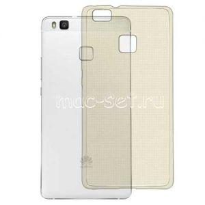Чехол-накладка силиконовый для Huawei P9 Lite (серый 0.3мм)