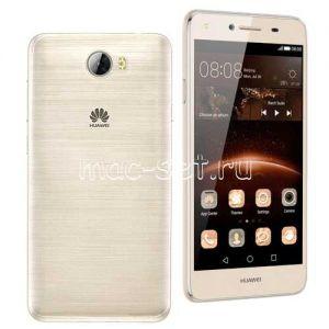 Чехол-накладка силиконовый для Huawei Y5 II / Honor 5A ультратонкий (прозрачный)