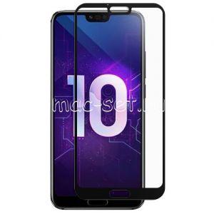 Защитное стекло для Huawei Honor 10 [на весь экран] (черное)