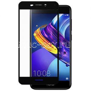 Защитное стекло для Huawei Honor 6C Pro [на весь экран] (черное)