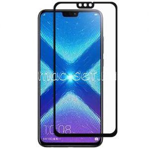 Защитное стекло для Huawei Honor 8X [на весь экран] (черное)