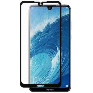 Защитное стекло для Huawei Honor 8X Max [на весь экран] (черное)