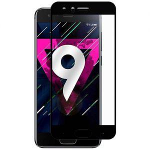 Защитное стекло для Huawei Honor 9 [на весь экран] (черное)