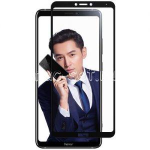 Защитное стекло для Huawei Honor Note 10 [на весь экран] (черное)