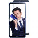 Защитное стекло для Huawei Honor Note 10 [на весь экран] (синее)