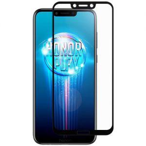 Защитное стекло для Huawei Honor Play [на весь экран] (черное)