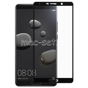 Защитное стекло для Huawei Mate 10 [на весь экран] (черное)