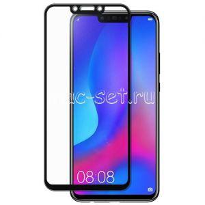 Защитное стекло для Huawei Nova 3 / 3i [на весь экран] (черное)