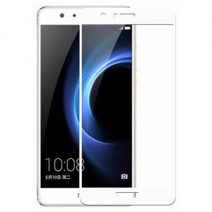 Защитное стекло для Huawei Honor 8 [на весь экран] Aiwo (белое)