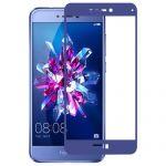 Защитное стекло для Huawei Honor 8 Lite [на весь экран] (синее)
