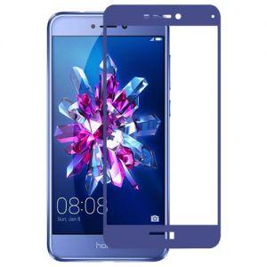 Защитное стекло для Huawei Honor 8 Lite [на весь экран] Aiwo (синее)